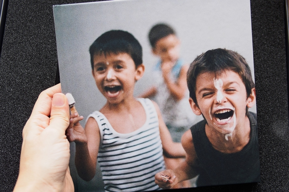 álbum fotográfico Saal