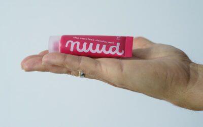 nuud, el desodorante natural -sin aluminio- que funciona, no irrita y no mancha la ropa