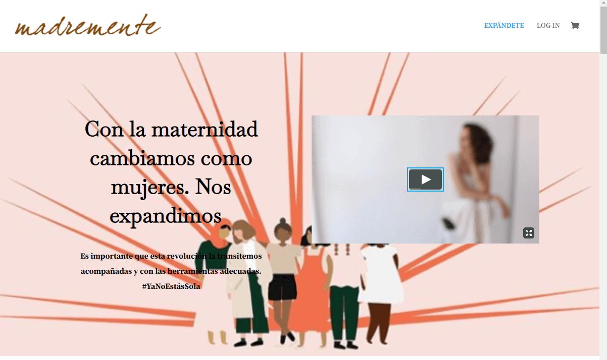 Espacio Expándete de Madremente.com
